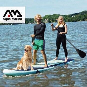 370*87*15CM AQUA MARINA SUPER voyage gonflable sup stand up paddle board gonflable planche de surf planche de surf gonflable kayak caméra