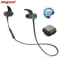 Hongsund HB806 Bluetooth Headphone Wireless IPX5 Waterproof Earbuds Dual Battery Magnetic Headset Sport Earphone With Mic