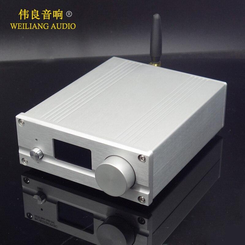 2019 SU7 ES9038Q2M XMOS USB DAC Decoder W OLED Bluetooth 5 0 Support Remote Control