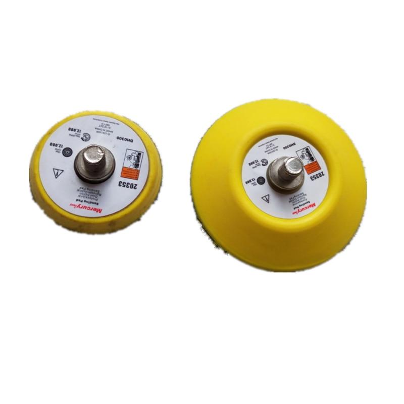 Pneumatinės šlifuoklių trinkelės, 2 colių, 3 colių, tiesios šerdies, šlifuoklis, 50 mm 75 mm šlifavimo disko diskas.