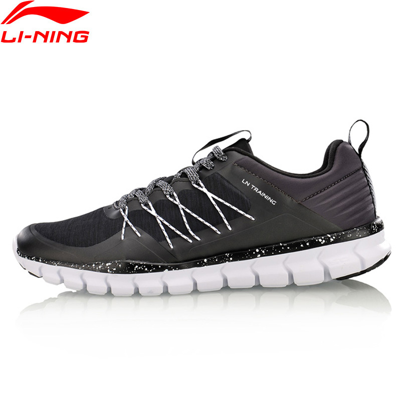 Li-Ning Men 24H Training Shoes Light Weight Anti-Slippery LiNing Sports Shoes Breathable Wearable Sneakers AFHM027 YXX019 li ning brand men basketball shoes sonicv series professional camouflage sneakers support lining breathable sports shoes abam019