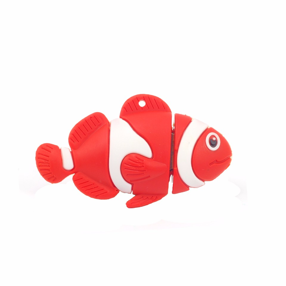 Hot Sale Cartoon Color Fish USB Flash Drive Pendrive 4GB 8GB 16GB ...