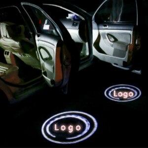 Image 2 - JURUS için Led durumda Chrysler Suzuki Dodge LED araba kapı hoşgeldiniz işık nezaket araba lazer projektör logosu hayalet gölge ışık