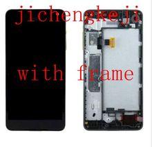 5.0 «oled для Microsoft Lumia 650 ЖК-дисплей + сенсорный Стекло экрана планшета каркасные Бесплатная доставка