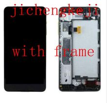 "5.0 ""Oled Para Microsoft Lumia 650 Pantalla Lcd + Pantalla Táctil de Cristal digitalizador Asamblea Frame envío libre"