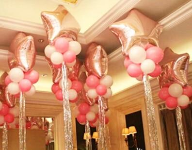 Ballonnen Met Licht : 10 stuks partij ballon accessoires lint verjaardag decoratie