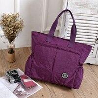 Big Bag2017 Women S Beach Fashion Waterproof Color Handbag Large Shoulder Bag Handbag Casual Female Bolsa