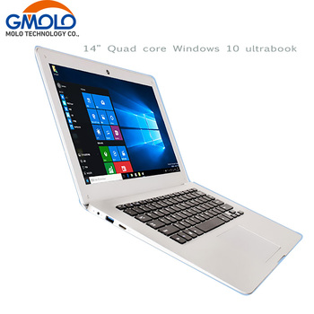 14 pouces ultrabook ordinateur portable Windows 10 ordinateur portable 10000 mah batterie Atom X5 Z8350 2 gb 32 gb 1920*1080 HD écran