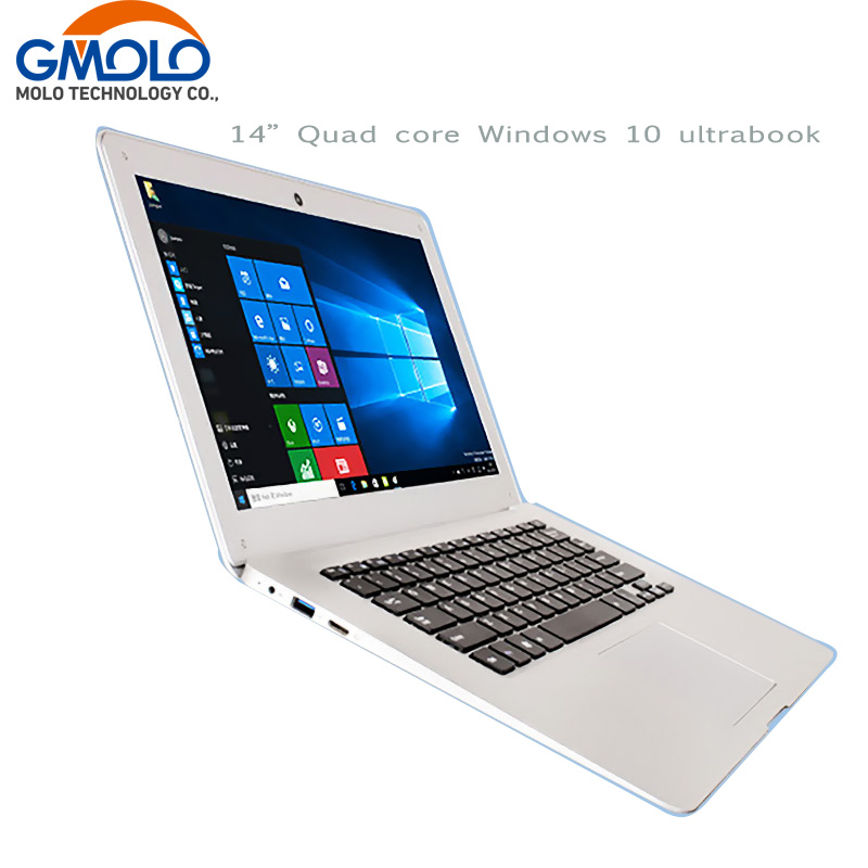 14inch ultrabook laptop Windows 10 notebook computer 10000mAh battery Intl Atom X5 Z8350 2GB 32GB EMMC ROM WIFI camera