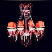 Iluminación casera moderna Cocina Bar vintage chandelier lustre hotel Chandelier comedor dormitorio iluminación interior led de la Bola Redonda