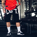 2016 Gymshark Шорты Мужские Колготки Сжатия Палм Печати Дизайн Бермуды Короткие Мужчины Homme сжатия Шорты фитнес шорты мужчины