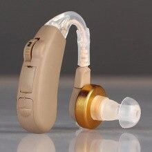 BTE hearing aids  for the elderly Zinc Air Battery 600 hours sound amplifier device Ear care earphones deaf Adjustable tone AXON
