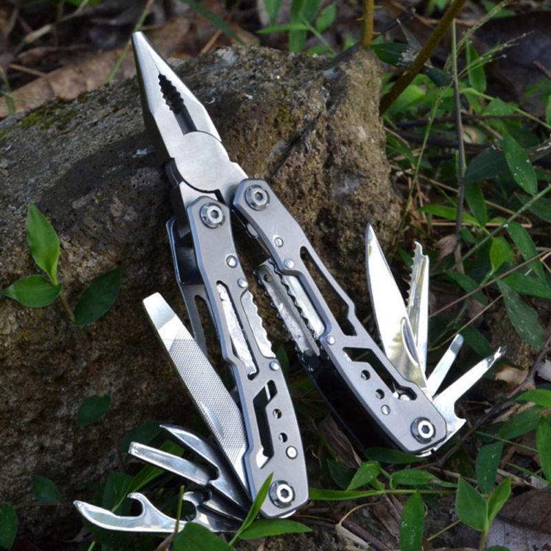 Multitool Zange Edelstahl Folding Zange Multifunktionswerkzeug Messer Handtool