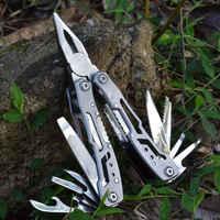 Multifunktions Edelstahl MultiTool Tasche Messer Zange Klappzange Outdoor-Tool