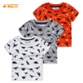 VICVIK Brand Hot Sale 2017 Children Summer Clothing boy Casual clothes Kids T-shirt Baby Boys Dinosaur Cotton Short Sleeve Shirt