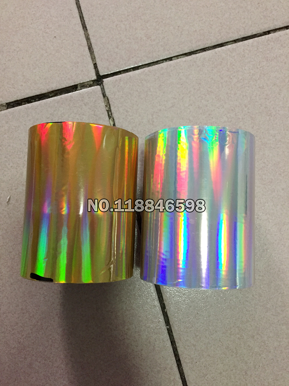 US $12.64 21% OFF|Hot Stamping Foil Paper Roll Hot Foil or Plastic /Paper Laser Gold+Laser Silver 2Piecesx(8cmx120m)/Roll|foil paper|laser paper|rolling paper - AliExpress