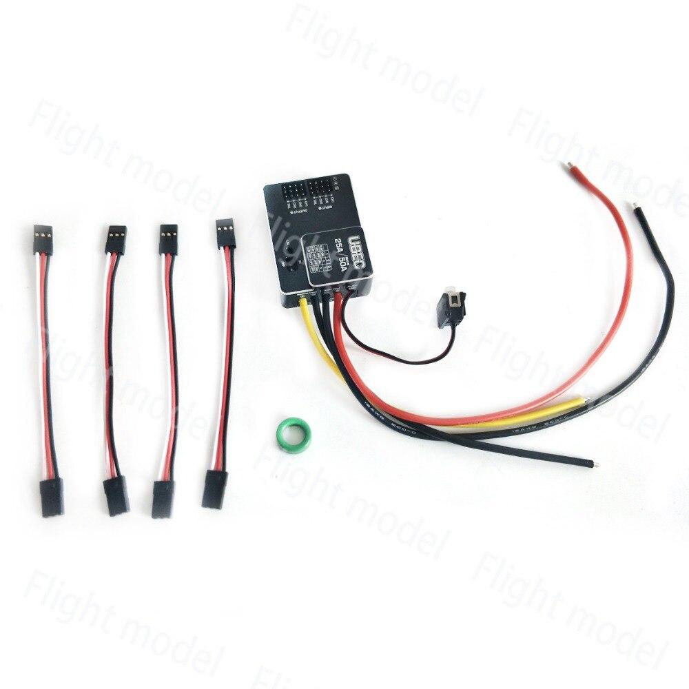 Здесь можно купить  HobbyWing UBEC Module Input 3-18S Lipo 25A MAX 50A External Switching Mode DC-DC Regulator Ultra Battery Elimination Circuit   Игрушки и Хобби