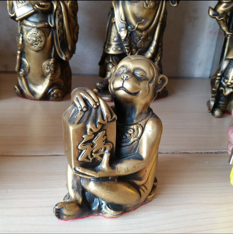 SUIRONG---2017 813 + + медь печать обезьяна зодиака Обезьяна напоминание Ван Фэн-шуй украшения промышленности бизнес домашнего интерьера ...