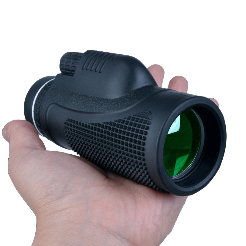 Monocular 40x60 for Mobile Phone Optical lenses Green Film Telescope Outdoor Hunting Watching Bird Spotting Scope