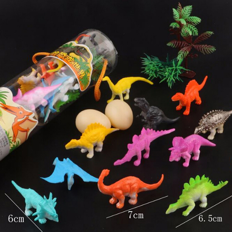 16Pcs/set 6cm Kids Imaginative <font><b>Dinosaur</b></font> <font><b>Toy</b></font> PVC Action Figure <font><b>Toys</b></font> Learning Resources for Toddlers image