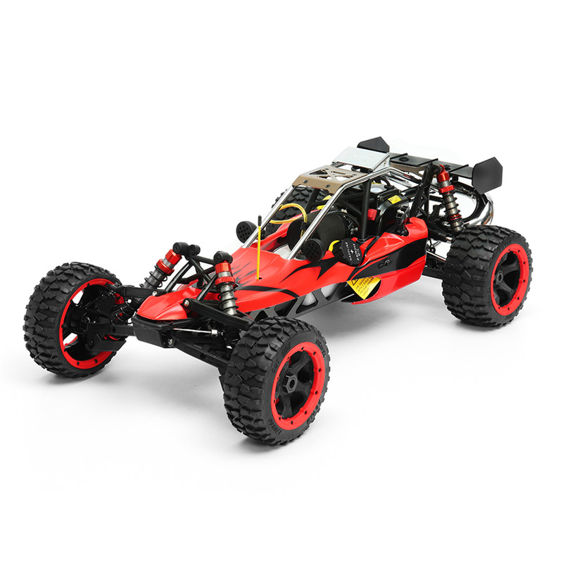 Rovan Baja 305 Rc Car 1/5 RWD 30.5cc Gas 2 Stroke Engine Symmetrical Steering RTR Buggy No Battery rovan baja 305 rc car 1 5 rwd 30 5cc gas 2 stroke engine symmetrical steering rtr buggy no battery