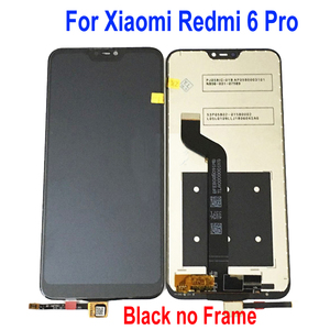 "Image 3 - 100% Tested Work For Xiaomi Mi A2 Lite 5.84"" LCD Display Touch Screen Digitizer Assembly For Redmi 6 Pro + Frame Sensor Pantalla"