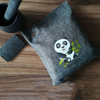 6PCS Car Home Odor Absorber Bamboo Charcoal Bag Breathe Green Air Purifying Absorber Activated Bamboo Charcoal Bag