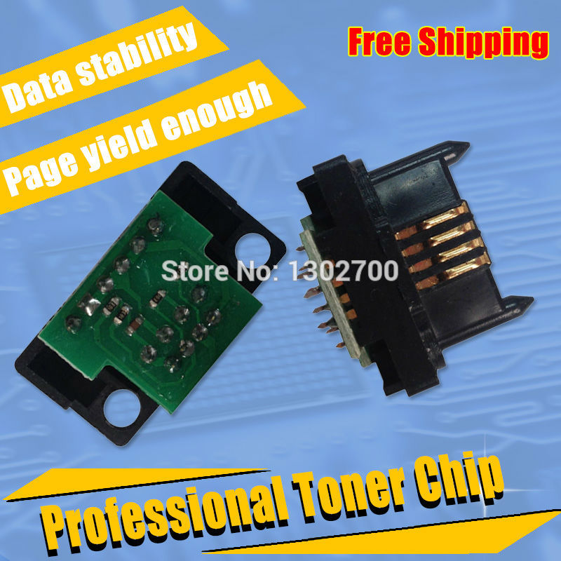 US $16 98 |DC12 T K C M Y Toner Cartridge chip For fuji Xerox DocuColor 12  1250 1255 DC12 DC1250 DC1255 color powder refill reset chips-in Cartridge