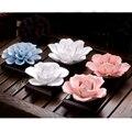 PRZY Camellia 3D формы  форма для мыла в виде лотоса  жасмин  Силиконовые розы  свеча  ароматическая форма для изготовления мыла вручную  формы из си...