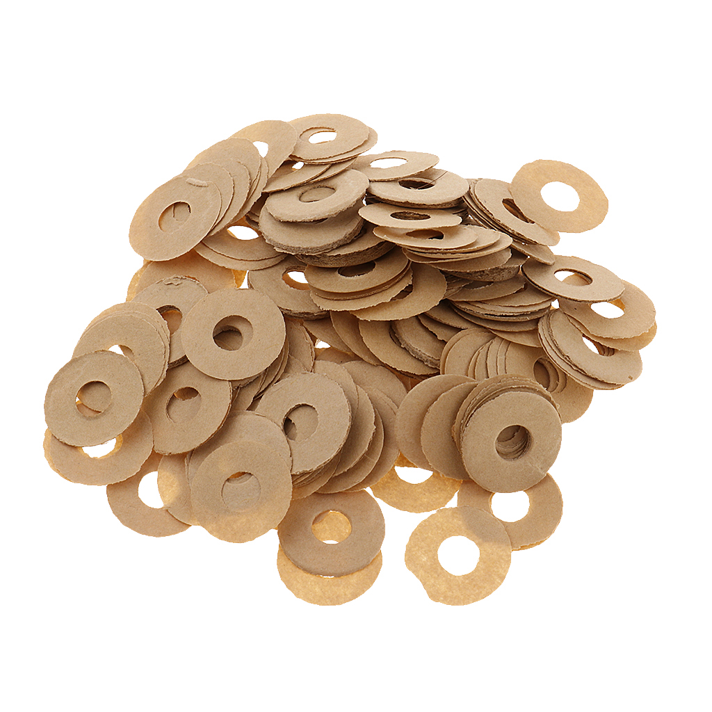 1 Pack Small Paper Piano Balance Front Rail Punchings Piano Regulating Tool Shims DIY Dia. 12mm Piano Replacement Parts