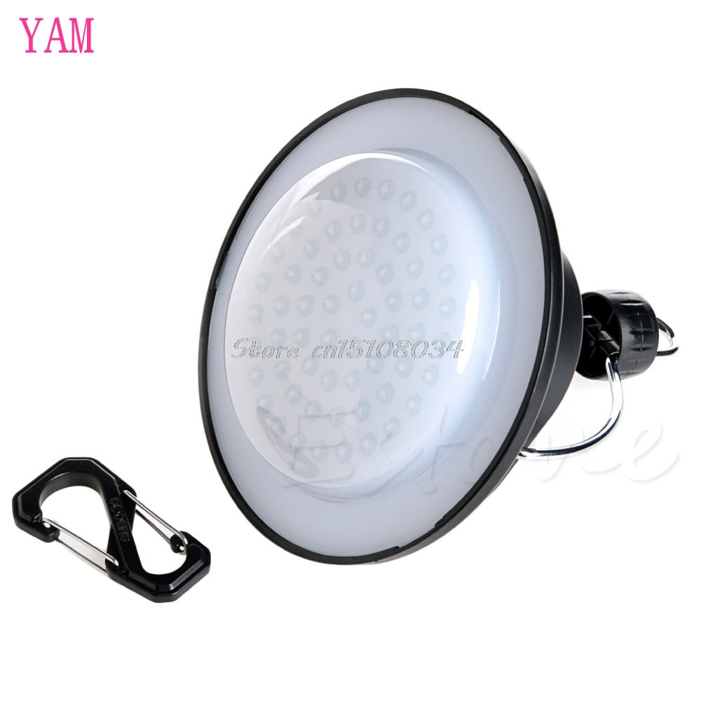 Outdoor Camping Light 60 LED Portable Tent Umbrella Night Lamp Hiking Lantern S08 Drop ship