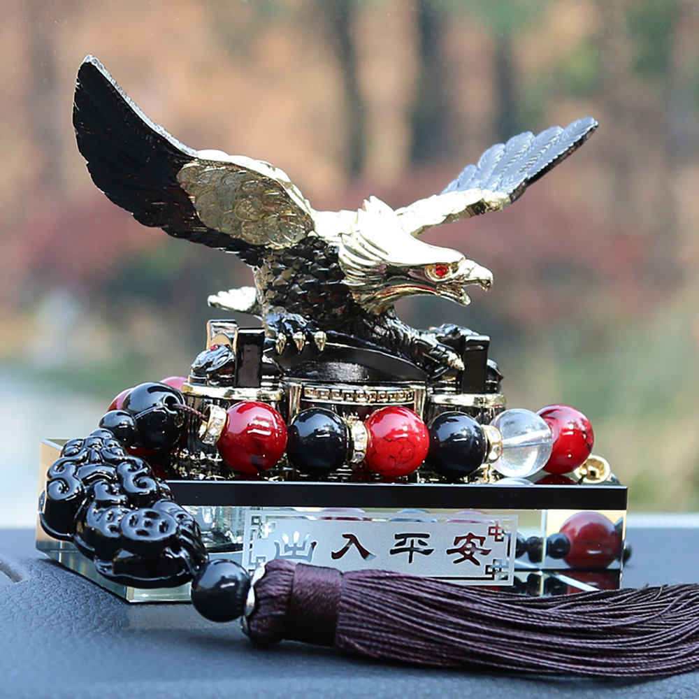 Car Freshener Zinc Alloy Eagle Perfume Seat Luxury Automotive Interior Fragrance Smell Diffuser Home Odor Remover