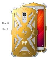 Zimon Original For Xiaomi Redmi Note 4 4X Case Cover Aluminum Metal Luxuru For Xiaomi Red