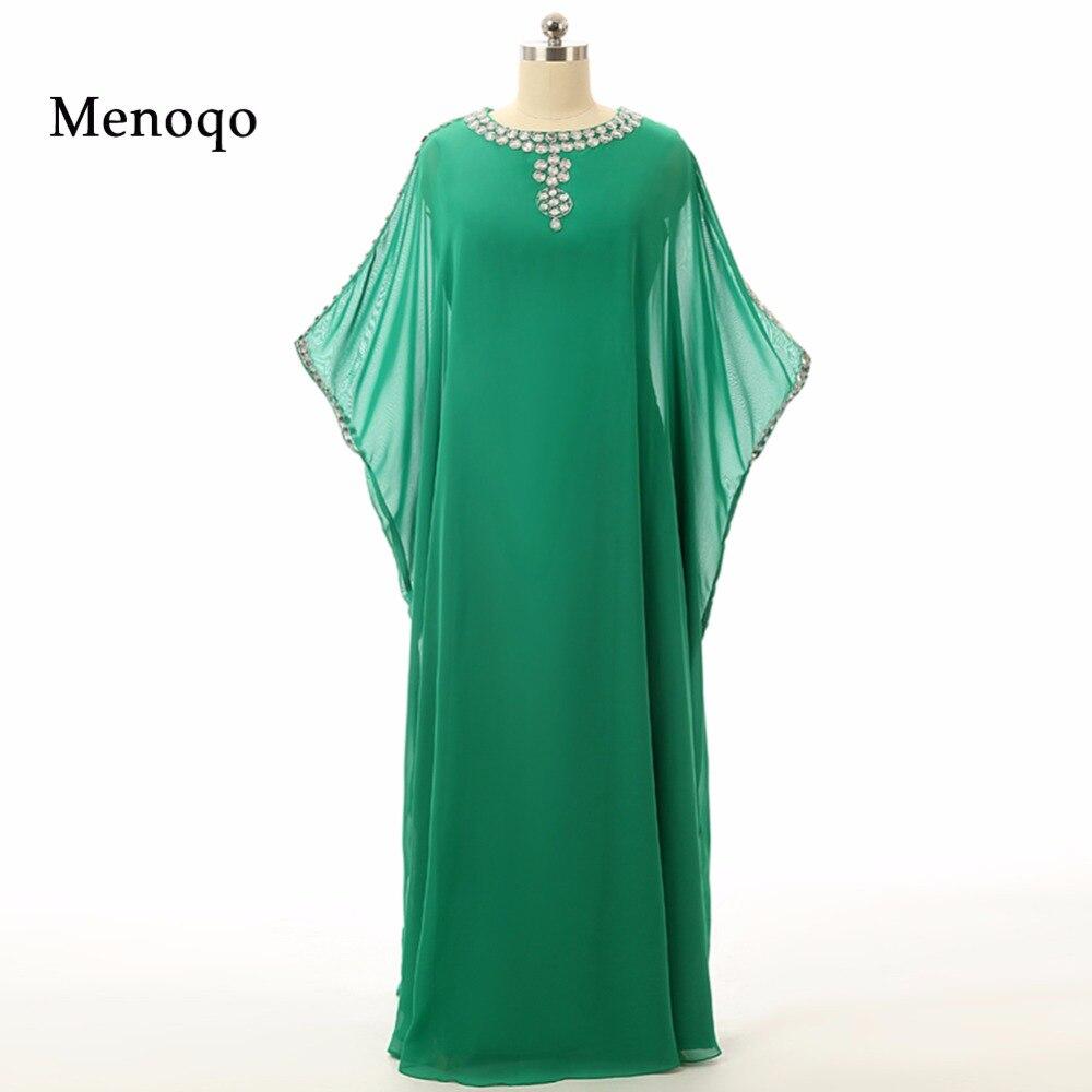 Caftan Long dubaï musulman caftan Abayas Robe Abayas pour femme vêtements islamiques arabe turc à vendre robes de soirée vert