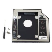 WZSM nowa 2 Dysk twardy HDD SSD rama adaptera dla HP ProBook 6360b 6460b 6465b 6470b 6475b zdejmowana płyta czołowa tanie tanio wholesale HDD SSD Hard Drive Caddy Sata kable Zdjęcie