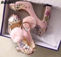 Гламурная Для женщин фиолетовый замши высокий тонкий каблук элегантный острый носок кисточкой Лодочки на платформе Модные Кружево на шнур