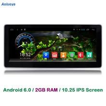 Aoluoya RAM 2GB Android 6.0 CAR DVD Radio GPS Navigation For Mercedes-Benz C200 W204 2005-2010 2011 2012 Audio Video multimedia