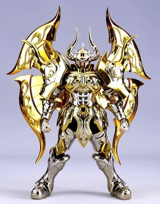 New Arrival God Taurus model EX Taurus Aldebaran God Cloth Soul Of Gold Saint Seiya Metal Armor Myth Cloth Action Figure toys brand metal club mc anime saint seiya character ex myth cloth soul of gold god ex aries mu figure