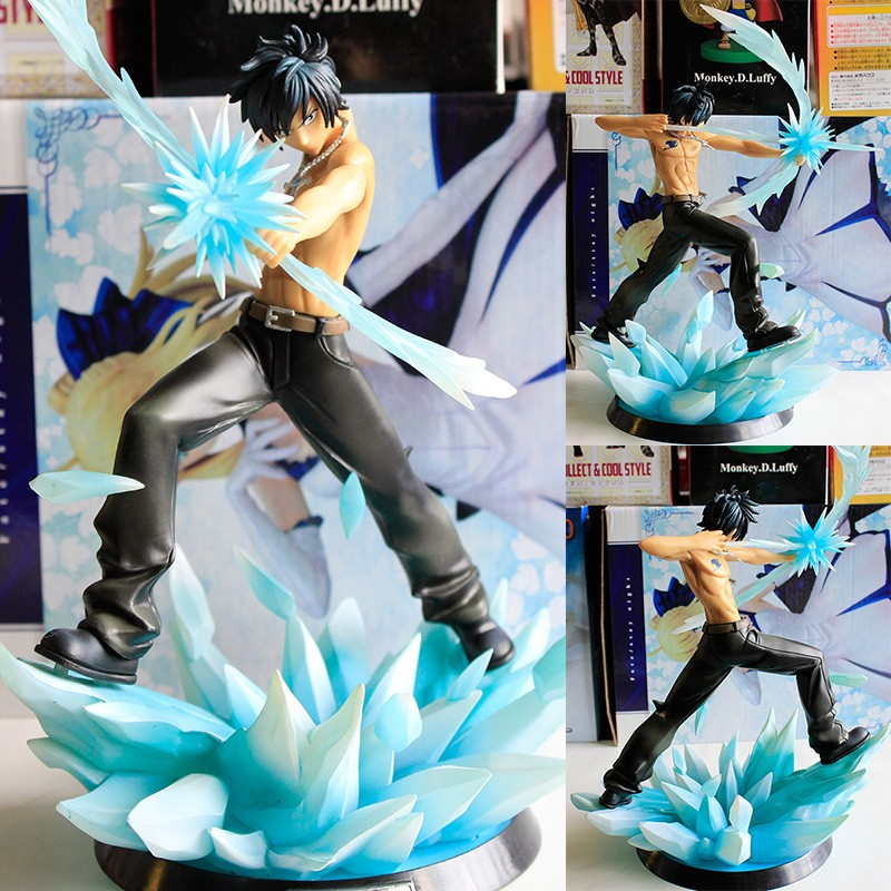Anime Fairy Tail Gray Fullbuster Kampf Ver PVC Action Figure Sammeln Modell Puppe Spielzeug 29 Cm In