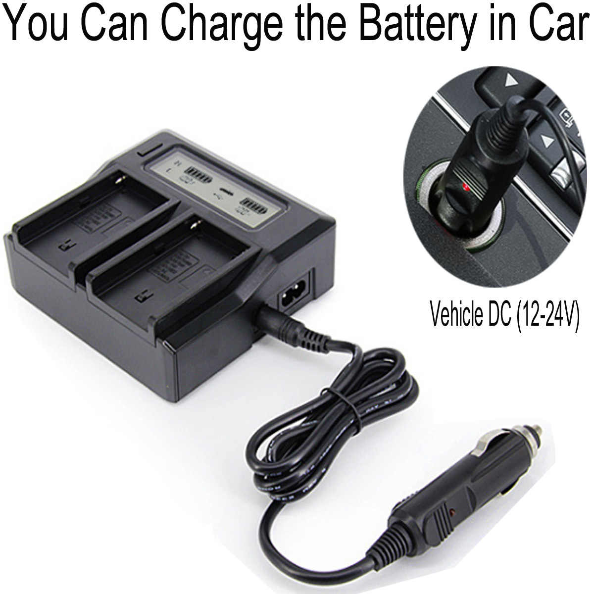 HXR-NX200 NXCAM Camcorder Battery Charger for Sony HXR-NX100
