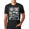 2017 Summer New Fashion Camisetas AC/DC Graphic Printed T Shirt Men's Casual Short Sleeve O Neck T-Shirt Hip Hop Streetwear Tops