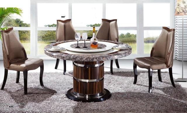 € 435.22 |Nouveau Design pas cher mode marbre salle à manger meubles dans  Table de salle à manger de Meubles sur AliExpress.com | Alibaba Group