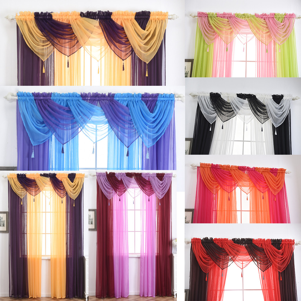 1 PCS Valance European Royal Luxury Valance Curtains for Living Room Window Curtains for Bedroom Valance Curtains for Kitchen #4 ...