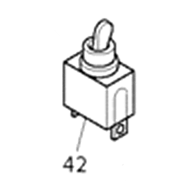 Genuine Switch For Makita 651423-1 3707F 3707 3706 DTM50 BTM40 BTM50 фрезер makita 3706