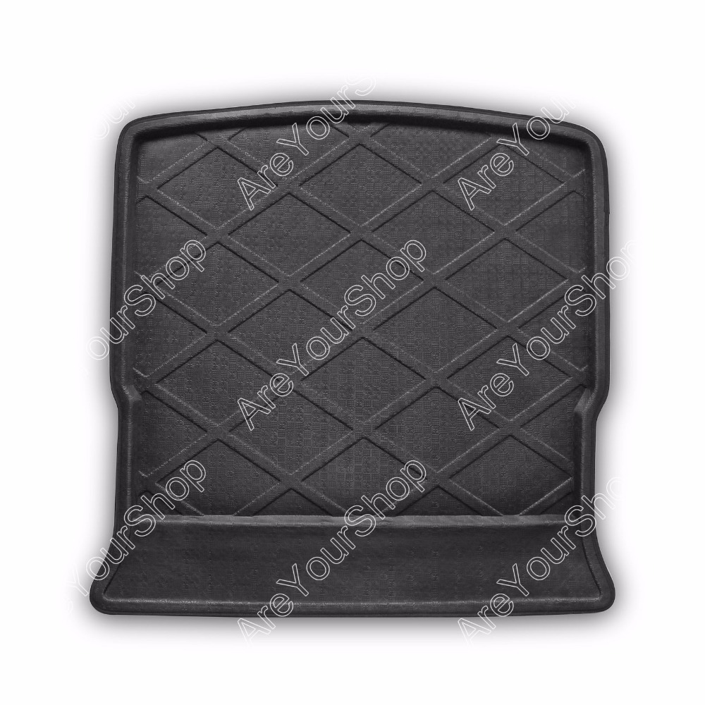 Car Auto Cargo Mat Boot liner Tray Rear Trunk Sticker For Ford S-MAX 2006 New Arrival Car-Styling Stickers Decorations car rear trunk security shield cargo cover for volkswagen vw tiguan 2016 2017 2018 high qualit black beige auto accessories