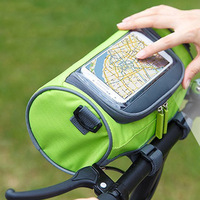 Outdoor Sports Bag 10 Inch Touch Screen Mobile Phone Can Bag Waterproof Nylon Shoulder Bag Messenger