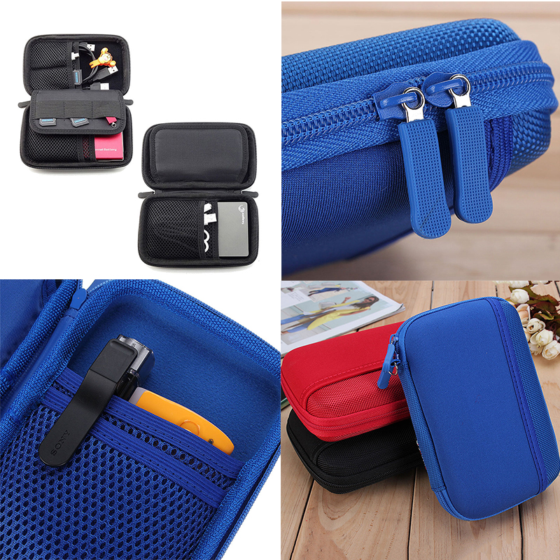 Electronic Accessory Travel USB Storage Organizer Cable Flash Drives Organizer Easy Bags Portable Storage Organizer Carry Bags