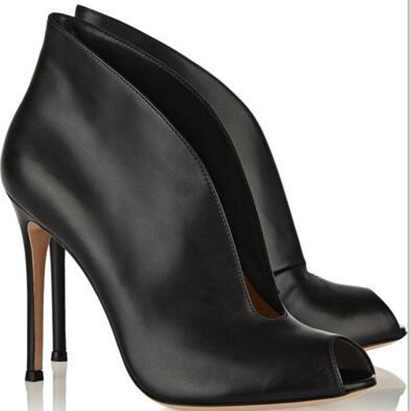 Eunice Choo 2018 Spring New Arrival Mature Wedding Trend Sandals Cover Heel Leather High-Heeled Sexy Elegant Career Women Shoes eunice