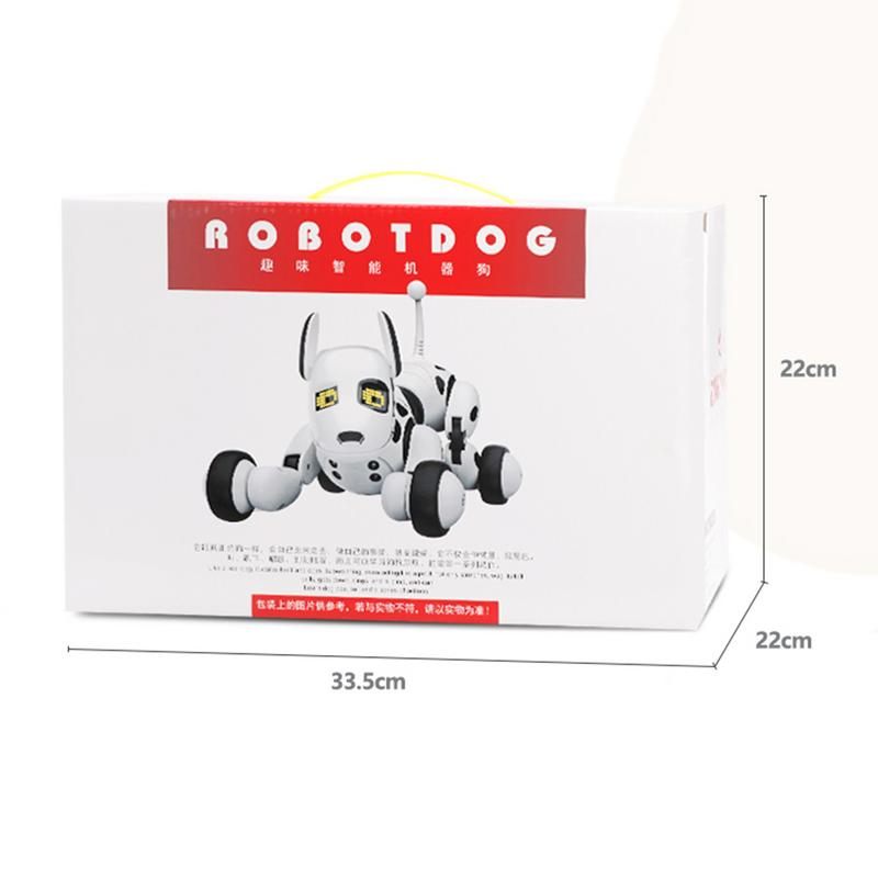 DIMEI cadeau d'anniversaire RC Zoomer chien 2.4G télécommande sans fil chien intelligent électronique Pet éducatif enfants jouet Robot jouets - 5