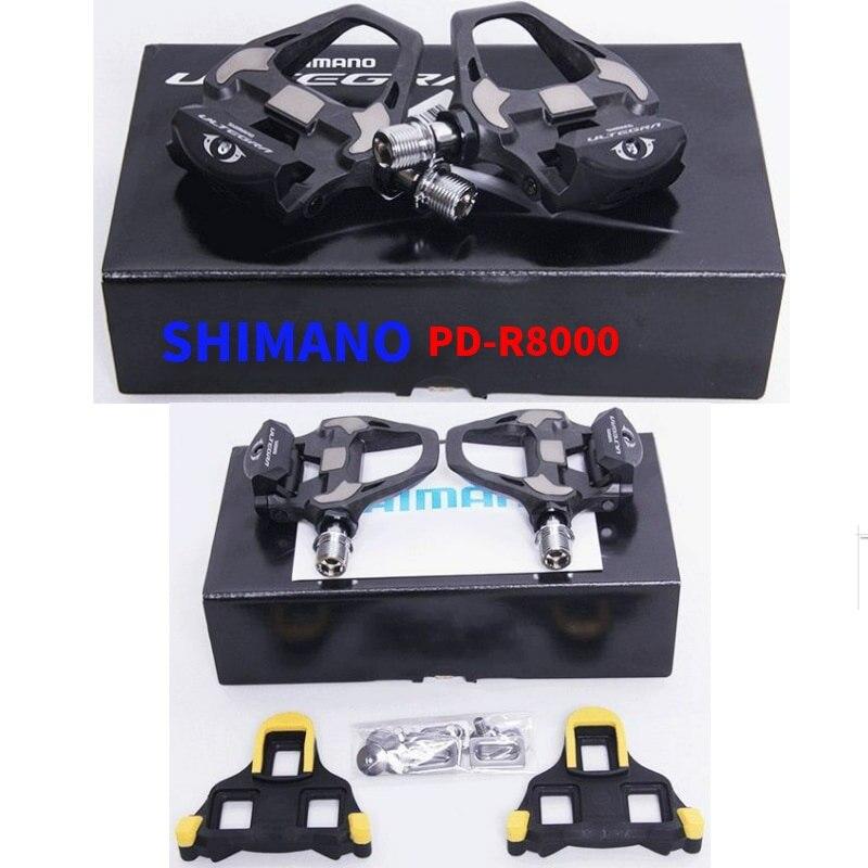 Shimano ULTEGRA PD R8000 pédales de vélo de route SPD pédales carbone autobloquant pour pièces de vélo de route de course de vélo